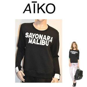 """NEW AIKO """"Sayonara Malibu"""" GIACOMO Sweatshirt"""